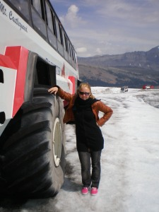 Huge snowcoach!