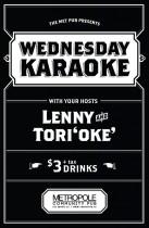 Wednesday karaoke