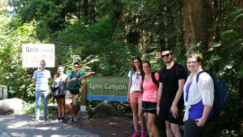Lynn Canyon sign