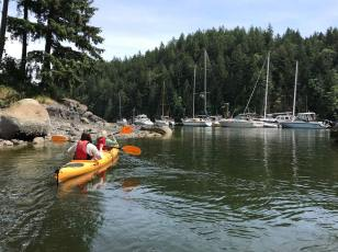 Kayaking Bowen Island May 2018